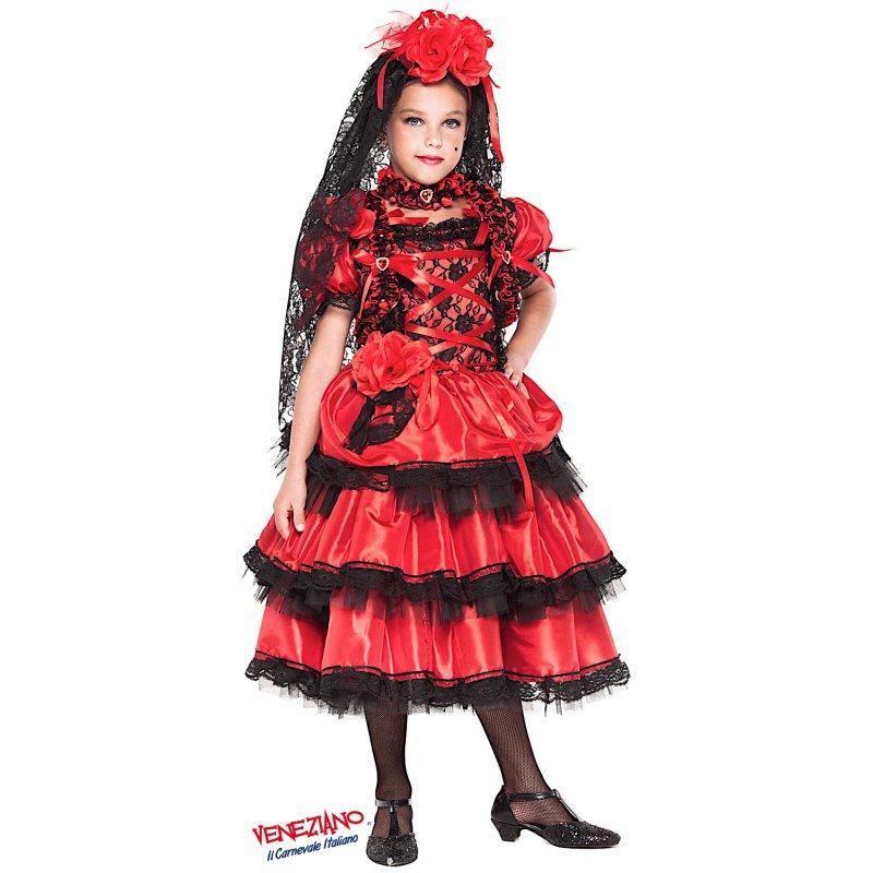 Vestito di Carnevale Veneziano Spagnola Prestige